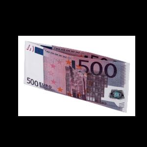500 Euró mintás pénztárca termék kép