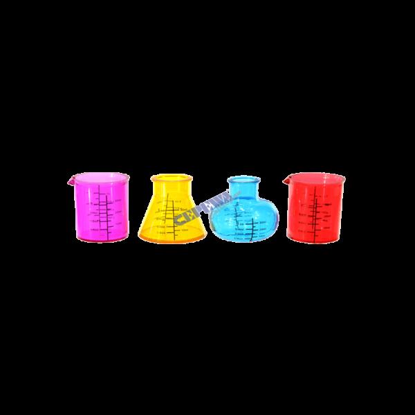 Feles pohár kémia szett lombik forma termék kép