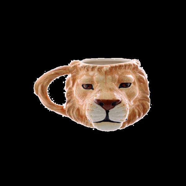 Oroszlán fej kerámia bögre termék kép