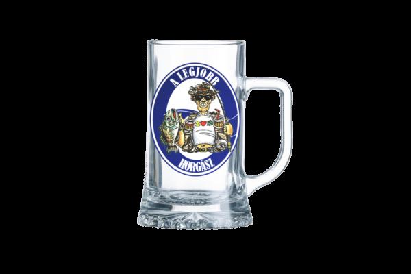 A Legjobb Horgász sörös korsó termék kép