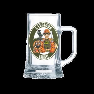 A Legjobb Vadász sörös korsó termék kép