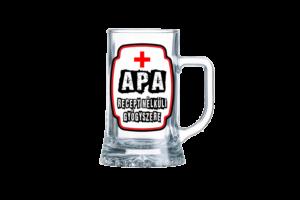 Apa Recept Nélküli Gyógyszere sörös korsó termék kép