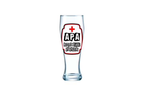 Apa Recept Nélküli Gyógyszere sörös pohár termék kép