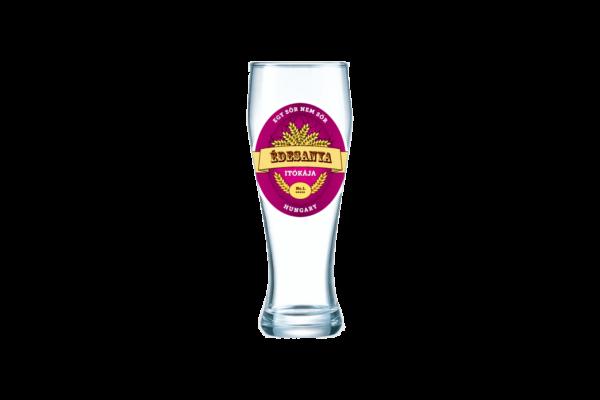 Édesanya Itókája sörös pohár termék kép