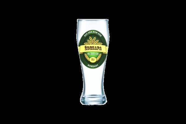 Édesapa Itókája sörös pohár termék kép