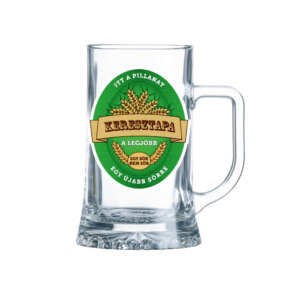 Keresztapa sörös korsó termék kép