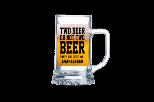 Two Beer On Not Two Beer sörös korsó termék kép