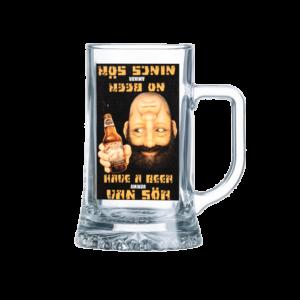 Van sör - Nincs sör sörös korsó termék kép