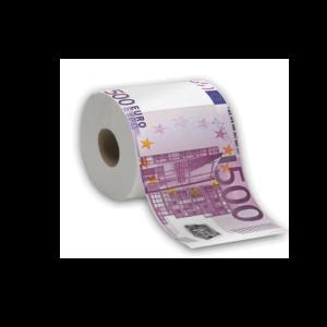 500 euró mintás WC papír termék kép