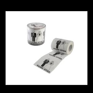 Game Over mintás WC papír termék kép