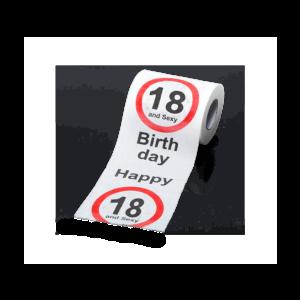 Happy Birthday 18 mintás WC papír termék kép