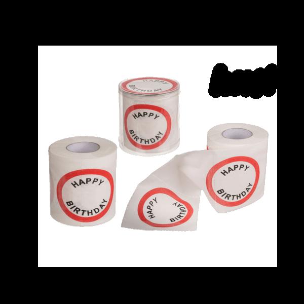 Happy Birthday 30 mintás WC papír termék kép