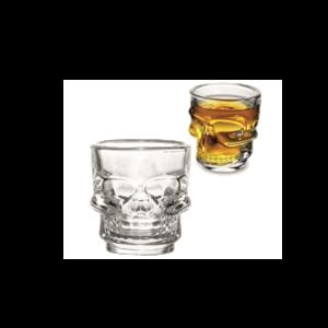 Kristálykoponya feles pohár (4 db) termék kép 1