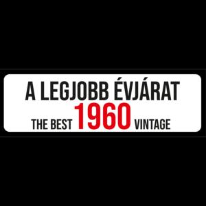 A legjobb évjárat 1960 évszámos rendszámtábla termék kép