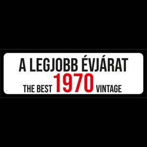 A legjobb évjárat 1970 évszámos rendszámtábla termék kép