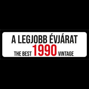 A legjobb évjárat 1990 évszámos rendszámtábla termék kép