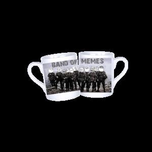 Band of memes vicces poénos mém bögre termék kép