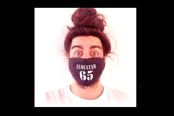 Elmúltam 65 mintás sima szájmaszk termék kép