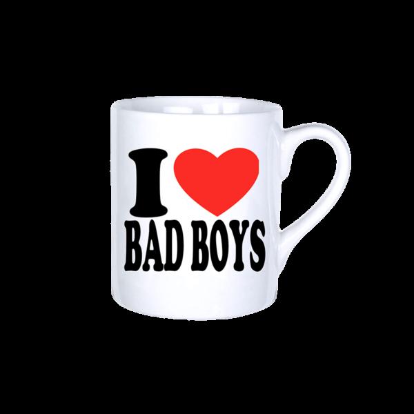 I love bad boys vicces bögre termék kép