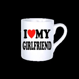 I love my girlfriend vicces bögre termék kép
