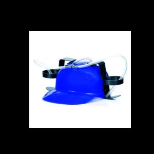 Kék Sörsisak szívószállal termék kép