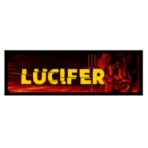 Lucifer vicces rendszámtábla termék kép