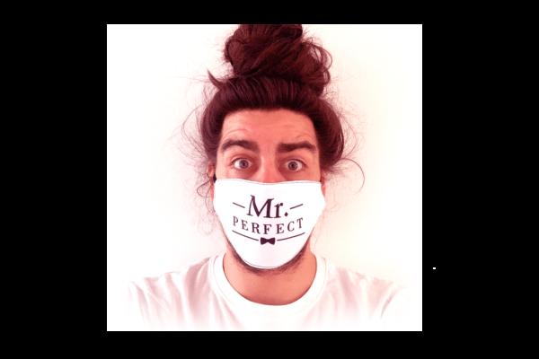Mr. Perfect mintás sima szájmaszk termék kép