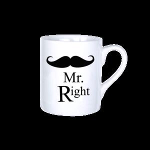 Mr. Right vicces bögre termék kép