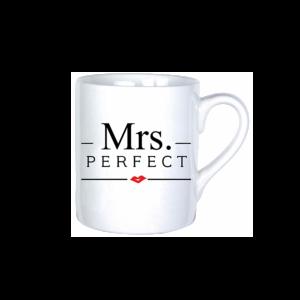 Mrs. Perfect vicces bögre termék kép