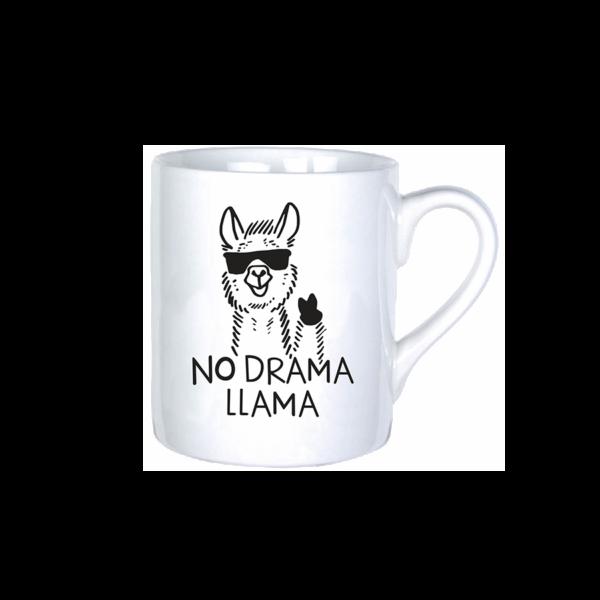 No Drama LLama fiú vicces bögre termék kép