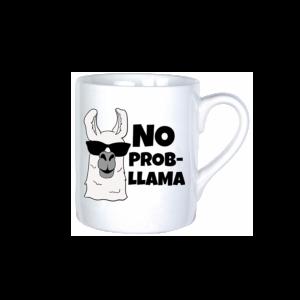 No Prob-llama vicces bögre termék kép