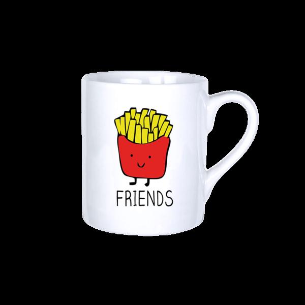 Best friends sült krumpli vicces bögre termék kép