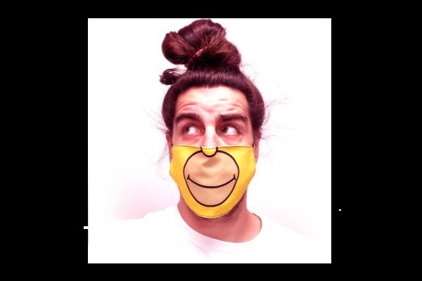 Simpson mintás sima szájmaszk termék kép