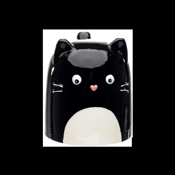 Fordított cica állatos kerámia bögre termék kép