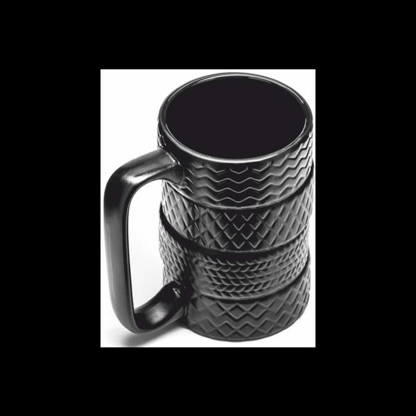 Gumiabroncs formájú kerámia bögre termék kép 1