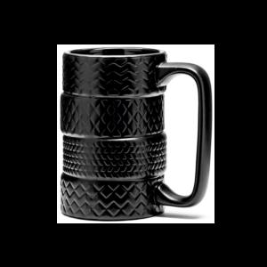 Gumiabroncs formájú kerámia bögre termék kép